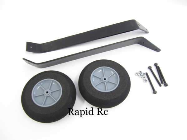Alloy Landing Gear With Wheels For Profile Type Models (1 set)